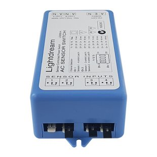 Lightdream AC controller displaying the four sensor inputs
