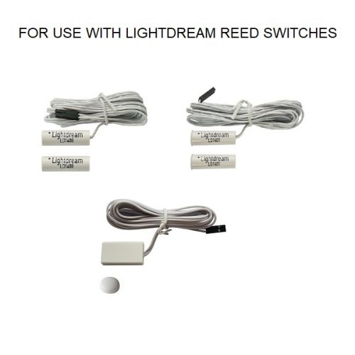 For use with Lightdream reed switches