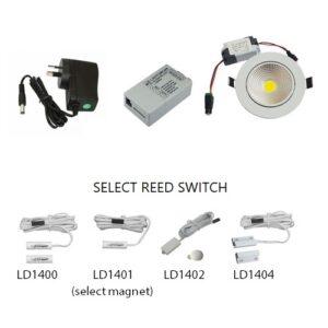 1V pantry light kit