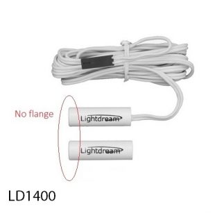 LD1400 reed sensor and magnet for a fully concealed door switch