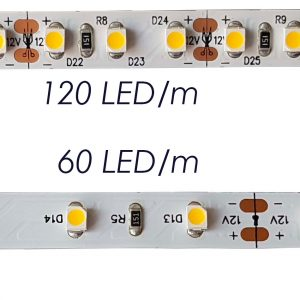LED strip 60 LED/m and 120 LED/m