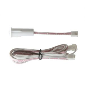white miniature pir + cable