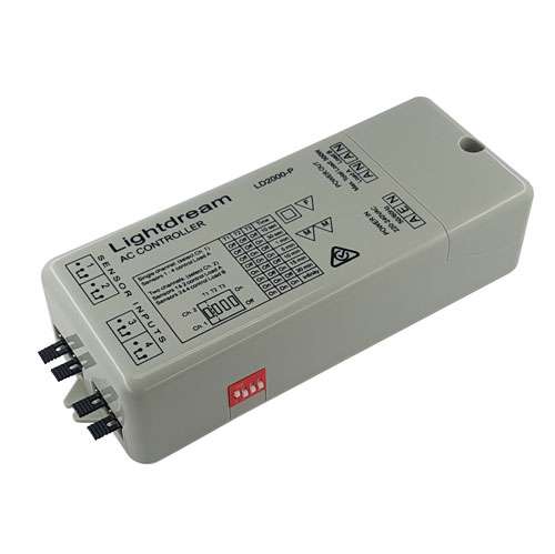 LD2000-P AC Controller angled view
