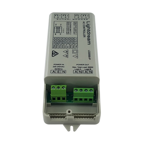 LD2000-P AC Controller connections