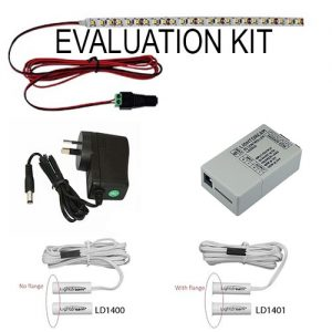 evaluation kit with Lightdream reed sensors and DC controller LD2040